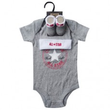 Converse Baby Hanging Set - Grey