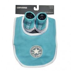 Converse Baby Bib & Sock Set