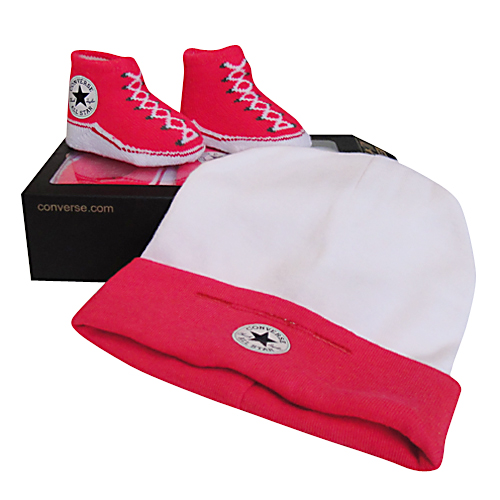 ... Converse Baby WHITE Hat   Sock ... 77c42d072fc8