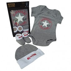 Converse Baby  Set - Grey