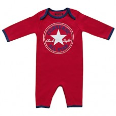 Converse Baby Boys Romper Red