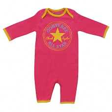 Converse Baby Girls Romper Star Flower