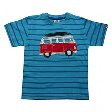 Dudeskin Campervan Stripey T-shirt