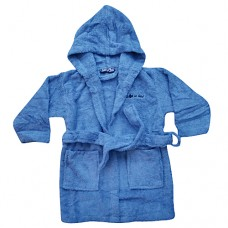 Knot So Bad Boys Dressing Gown - Blue