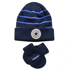 Converse Baby Hat & Mittens