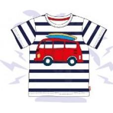 Dudeskin Campervan Aplique T-shirt