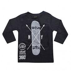 Knot So Bad Skateboard Black T-shirt