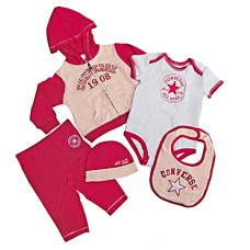 Converse Girls 5 piece set -BARBERRY