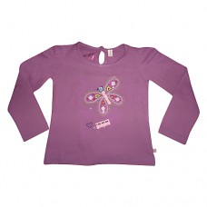 Sugar Pink Butterfly Long Sleeve T-shirt