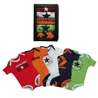 Converse Boys Baby Vests