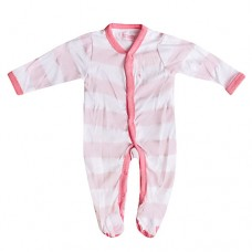 French Connection - Pink Stripey Babygrow