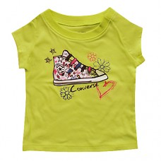 Converse Neon Yellow Baby Boot t-shirt