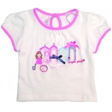 Sugar Pink Seaside T-shirt